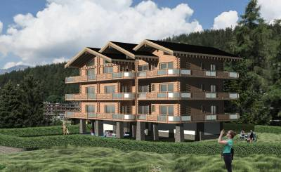 Neubauprojekte Wohnung Crans-Montana