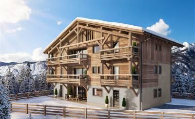 Neubauprojekte Wohnung Megève