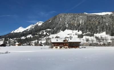 Vermietung Chalet Gsteig bei Gstaad