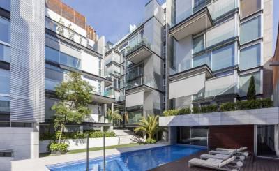 Vermietung Duplex Madrid