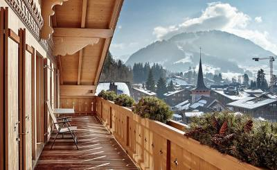 Vermietung Penthouse Gstaad